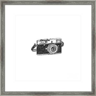 Rangefinder Camera Framed Print