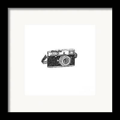 Vintage Camera Framed Prints