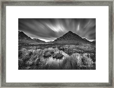 Rannoch Moor Framed Print by Rod McLean