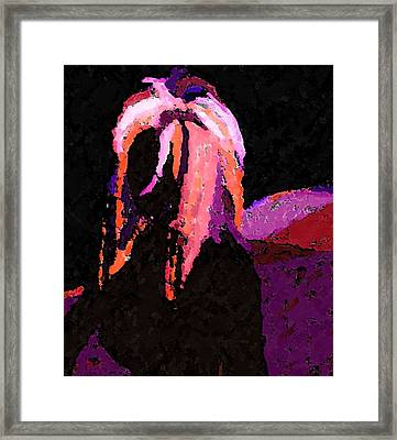 Raven  Framed Print by Margie  Byrne