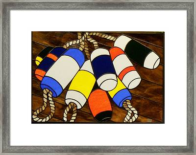 Ready For Work Framed Print by Jane Croteau
