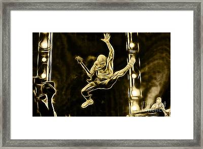 Red Hot Chili Peppers Collection Framed Print
