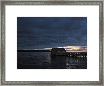 Framed Print featuring the photograph Redondo Pier by Sean Griffin