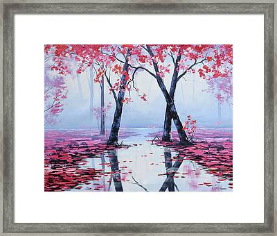 Reflections Framed Print by Graham Gercken