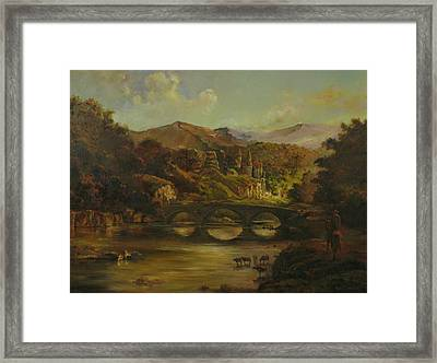 Renoir Lives Here Framed Print