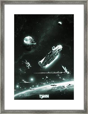 Return Of The Jedi Framed Print
