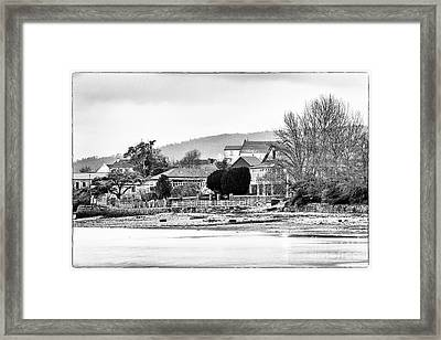Framed Print featuring the photograph Ribera Maninos Fene Galicia Spain by Pablo Avanzini