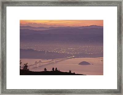 Richmond - San Rafael Bridge Framed Print