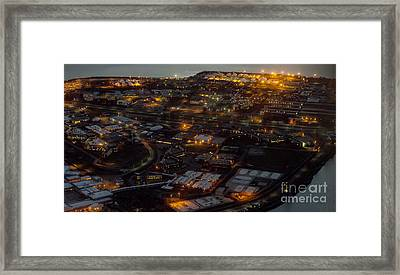 Rikers Island Jail - New York City Department Of Correction Framed Print by David Oppenheimer