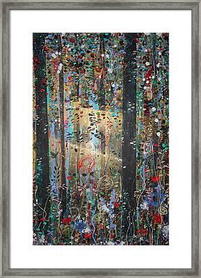 Risen Framed Print