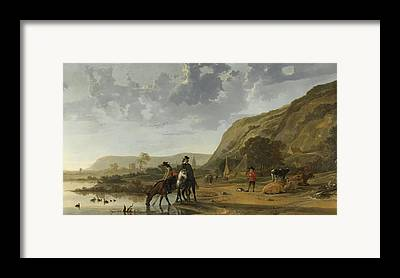 Swimming With Horses Framed Prints