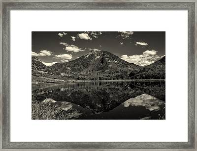 Rocky Mountain Reflections Framed Print