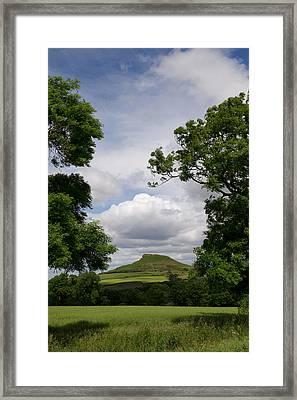 Roseberry Topping Framed Print by Gary Eason