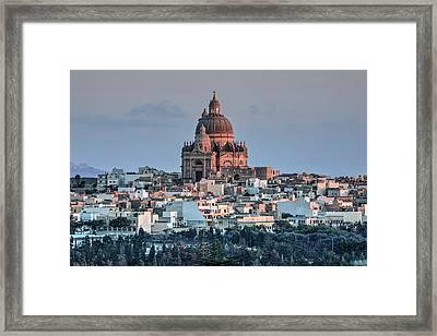 Rotunda Xewkija - Gozo Framed Print