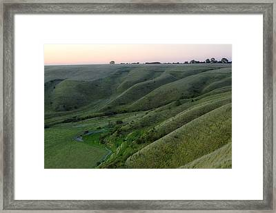 Roundway Hill - England Framed Print