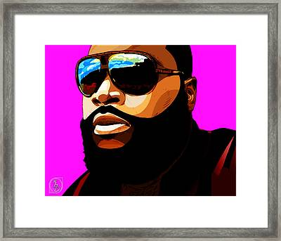 Rozay Framed Print by The DigArtisT