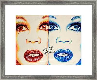 2 Ru Framed Print by Joseph Lawrence Vasile