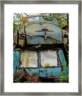 Rusted Series Framed Print by Laura Atkinson