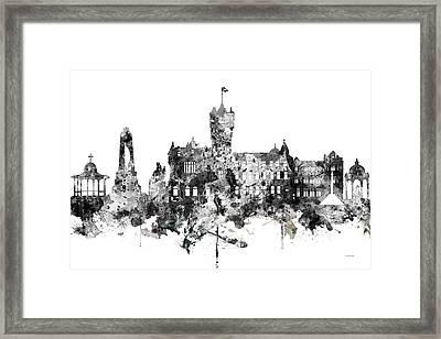 Rutherglen Scotland Skyline Framed Print