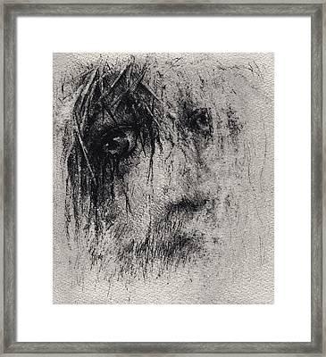 Sacrifice Framed Print by Rachel Christine Nowicki