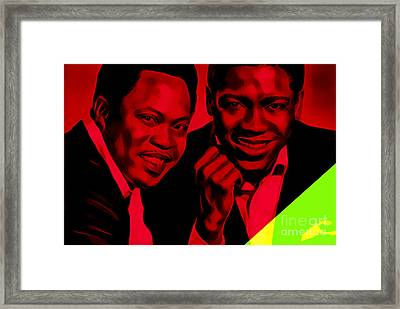 Sam And Dave Collection Framed Print by Marvin Blaine