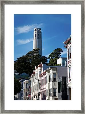 San Francisco's Coit Tower Framed Print