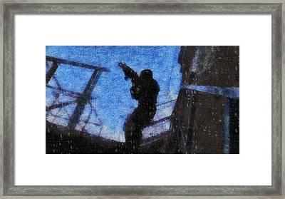 SAS Framed Print by John Springfield