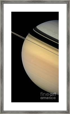 Saturn Framed Print