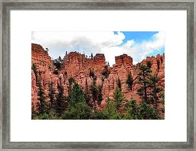Scenic Byway 12 - Along The Highway - Southern Utah Framed Print by Jon Berghoff
