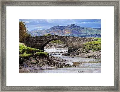Framed Print featuring the photograph Scottish Scenery by Jeremy Lavender Photography