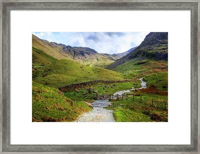 Seathwaith - Lake District Framed Print