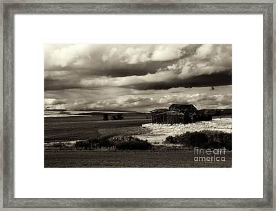 Framed Print featuring the photograph Seen Better Days by Mike Dawson