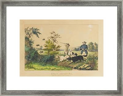 Setters The Property Framed Print by MotionAge Designs