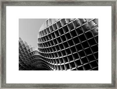 Sevilla - Metropol Parasol Framed Print by Andrea Mazzocchetti