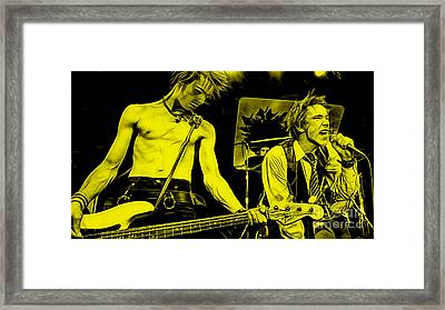 Sex Pistols Collection Framed Print by Marvin Blaine