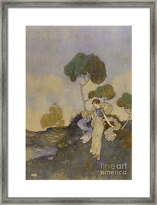 Shakespeare's Comedy Of The Tempest  Framed Print