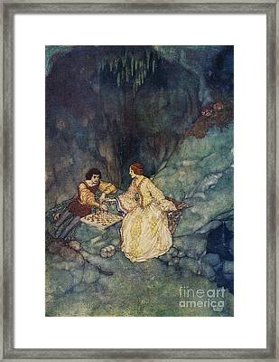 Shakespeare's Comedy Of The Tempest Framed Print by Celestial Images