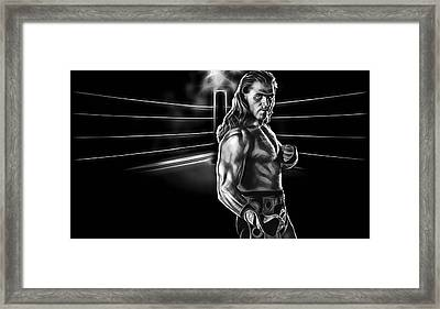Shawn Michaels Wrestling Collection Framed Print