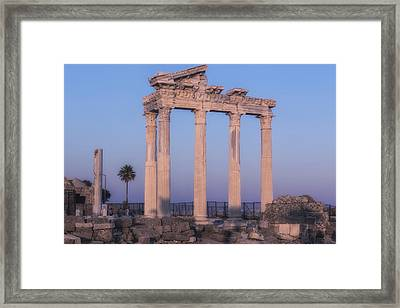 Side - Turkey Framed Print by Joana Kruse