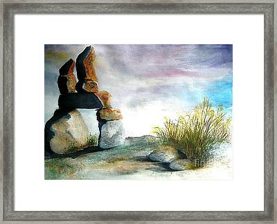 Signs Framed Print by Vivian  Mosley