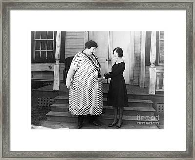 Silent Still: Weight Framed Print by Granger