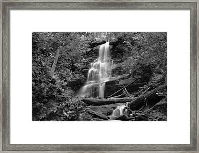 Silverspray Falls Framed Print