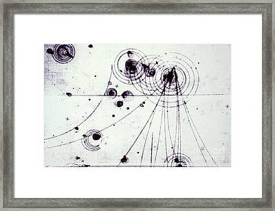 Slac Bubble Chamber Framed Print