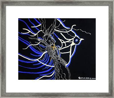 Slain In The Holy Spirit Framed Print by Gloria Ssali