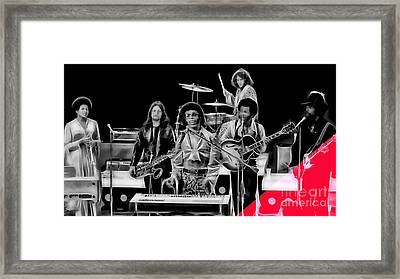 Sly And The Family Stone Collection Framed Print by Marvin Blaine