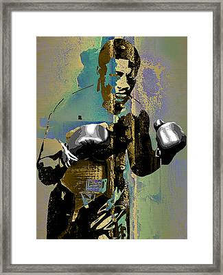Smokin Joe Frazier Collection Framed Print