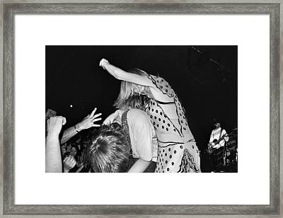 Sonic Youth Framed Print