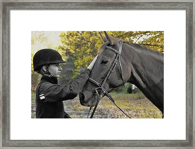 Soulmates Forever Framed Print by JAMART Photography