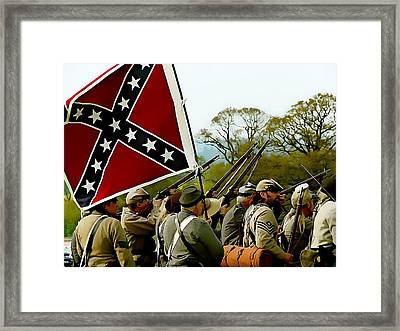 Southern Infantry Framed Print