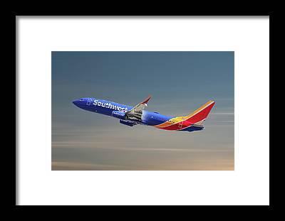 Airline Framed Prints